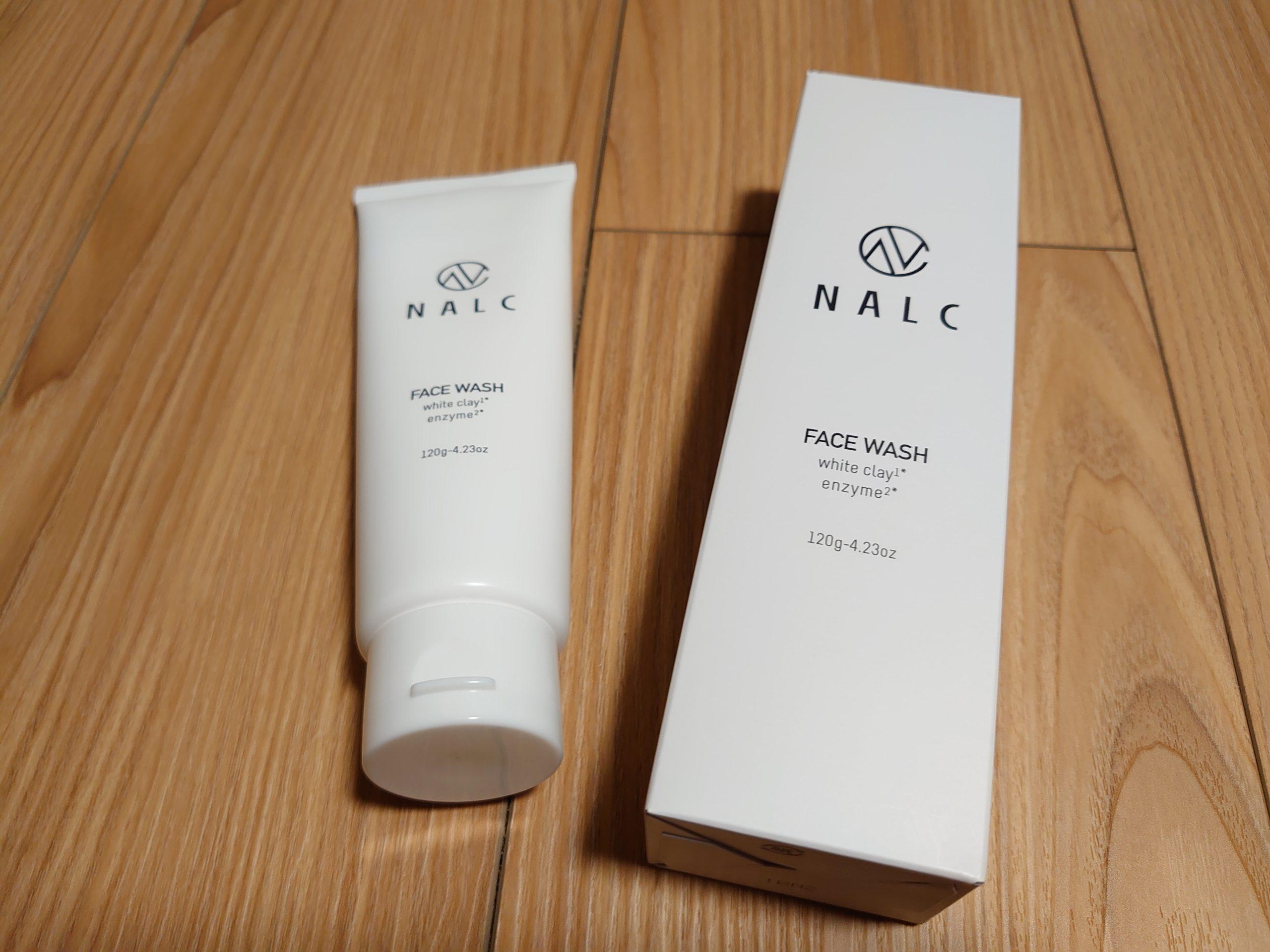 洗顔料おすすめ【NALC ホワイトクレイ酵素配合洗顔フォーム】を使ってみた